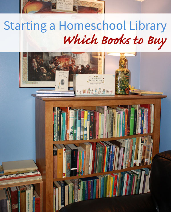 Starting a Homeschool Library