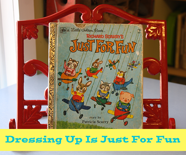 Richard Scarry book Just For Fun
